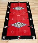 NAVAJO AMERICAN INDIAN Rug LARGE OLD