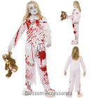 CK784 Zombie Pyjamas Girls Halloween Walk Dead Sleep Suit Blood Horror Costume