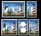 LIGHTHOUSE NAUTICAL SEAGULLS  #30  LIGHT SWITCH COVER PLATE   YOU PICK  SIZE