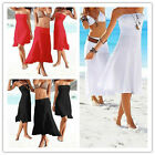 2016 Sexy Women Strapless Bikini Cover-Up Bandeau Dress Summer Swimwear Warp