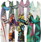 Pia Rossini Light Weight Summer Scarves 14 Various Designs Colourful