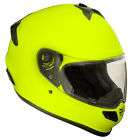Kali Naza FRP Full Face Motorcycle Helmet Hi-Viz Yellow