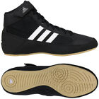 Adidas HVC 2 Laced Wrestling Shoes - Black/White