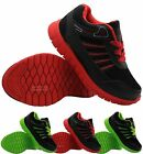 BOYS LIGHT WEIGHT SPORTS TRAINERS KIDS CASUAL GIRLS INFANTS SCHOOL SHOES BOOTS