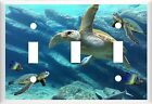 SEA TURTLE TROPICAL FISH # 10 LIGHT SWITCH COVER PLATE U PICK SIZE