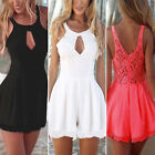 Fashion Womens Celeb Lace Playsuit Summer Party Evening Dress Jumpsuit Shorts