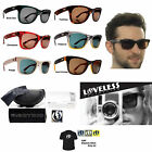 NEW Electric Visual Detroit Mens Square Acetate Loveless Sunglasses Msrp$130