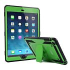 iPad Mini 1/2/3 Heavy Duty Case Shockproof Cover with Built In Screen Protector