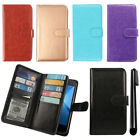 For Coolpad Rogue 3320A Leather Flip Magnetic Card Holder Wallet Cover Case +Pen