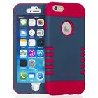 Shockproof Rugged Hybrid Rubber Multi Color Case Cover for Apple iPhone 6/6s 4.7