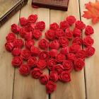 50pcs Foam Rose DIY Wedding Home Decor Multi-use Artificial Flower Head Handmade