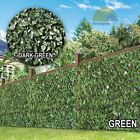 Artificial Ivy Leaves Fence Panel Cover Expandable 2 x 1m Garden Decoration New