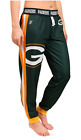 KLEW NFL Women's Green Bay Packers Cuffed Jogger Pants, Green