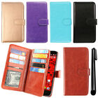 For Motorola Droid Ultra XT1080 XT1080M Magnetic Card Wallet Cover Case + Pen