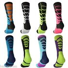 Professional sports men knee socks Elastic basketball football socking