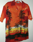 NEW night sailing in Hawaii HAWAIIAN SHIRT  by Grand   red size L or M