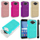 For Samsung Galaxy J3 J310 J320 / Sky S320 Luxury HYBRID Bling Case Cover + Pen