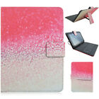 "Luxury PU Leather Micro USB Keyboard Case Stand Cover for 9"" 10"" Android Tablets"