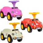 Kids Toddlers Ride On Push Along Bug Style Car