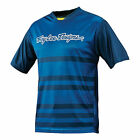 Troy Lee Designs YOUTH Skyline Divided Jersey BLUE BMX Mountain Cycle 32810330