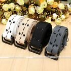 Army Style Pin Buckle Military Men Sports Web Canvas Belts Double Buckle 4Colors