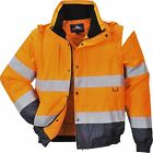 Portwest HI-Vis 2-in-1 Jacket Workwear Wind resistant keep warm and dry C468