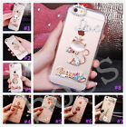 Glitter Luxury Crystal Bling Rhinestone Diamonds Soft Silicone Case Cover AB-2