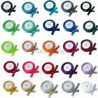 25Yards 15mm Satin Ribbon Wedding Scrapbook Gift Bouquet  DIY Crafts 24 Color