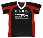 D.A.D.D. Dads Against Daughters Dating Funny Protective Retro Sport T-shirt