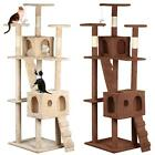 """2016 New 73"""" Cat Tree Tower Condo Furniture Scratching Post Pet Kitty Play House"""