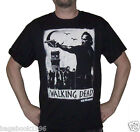 Men's The Walking Dead Rick Grimes Distressed T-shirt  (WD24)