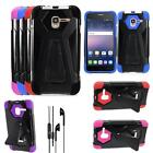 "For Alcatel Onetouch Pop 3 (5"") Phone Case Cover Earphone Headset Earbud w/ Mic"