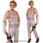 CL964 Womens Movie Theme Ghostbusters Jumpsuit Fancy Dress Up Costume Halloween