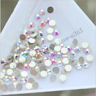 TOP Quality SS3-SS20 AB Crystal Flatback Nail Rhinestones Nail Art Decoration