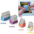 5/10/20/30/50 Wago Pole Push Electrical Cable Connector Wire Block Terminal Car