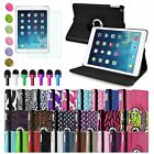 For Apple iPad Air 5 5th Gen Magnetic 360 Rotate Leather Stand Case Cover Swivel