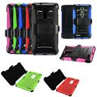 Phone Case For ZTE Zmax Pro / ZTE Carry Holster Rugged Cover Stand