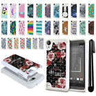 For HTC Desire 530 630 Anti Shock Studded Bling HYBRID Case Phone Cover + Pen