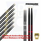 ProMark ActiveGrip Select Balance/Signature Drum Sticks (Forward/Rebound)