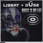 Music Is My Life [Single] by Lissat & Duse (CD, Jul-2004, Zyx/Dance Street)