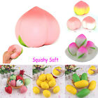 1Pc Squishy Multi Fruit Slow Rising Cream Scented Realistic Squeeze Phone Straps