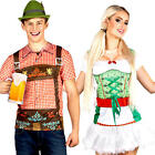 Oktoberfest Adults Fancy Dress Bavarian German Beer Mens Ladies Costume Shirts