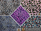 "Polar Fleece Printed Fabric CHEETAH 60"" Wide Sold By the Yard"