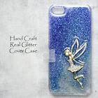 AL Hand Craft Sparkling Glitter Bling Resin Clear Crystal Hard Skin Case Cover