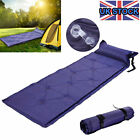 SINGLE SELF INFLATING CAMPING ROLL MAT/PAD INFLATABLE BED SLEEPING MATTRESS New