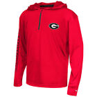 Georgia Bulldogs Youth Sleet  Quarter Zip Pullover windshirt