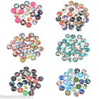 20PCs Mixed Christmas Glass Dome Cameo Cabochon Embellishment Findings 20mm