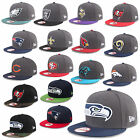 NEW ERA CAP 9FIFTY SNAPBACK NFL FOOTBALL RAIDERS PATRIOTS GIANTS SEAHAWKS UVM