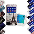 """For OPPO R9 5.5"""" PU leather Window View Stand Flip Cover Case Luxury Cartoon"""