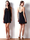 Womens Sundress Gilrs A Line Loose Party Dresses Ladies Sleeveless Casual Dress